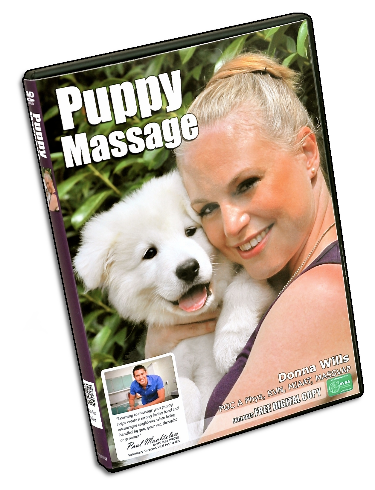 Puppy Massage DVD at Discover Dogs