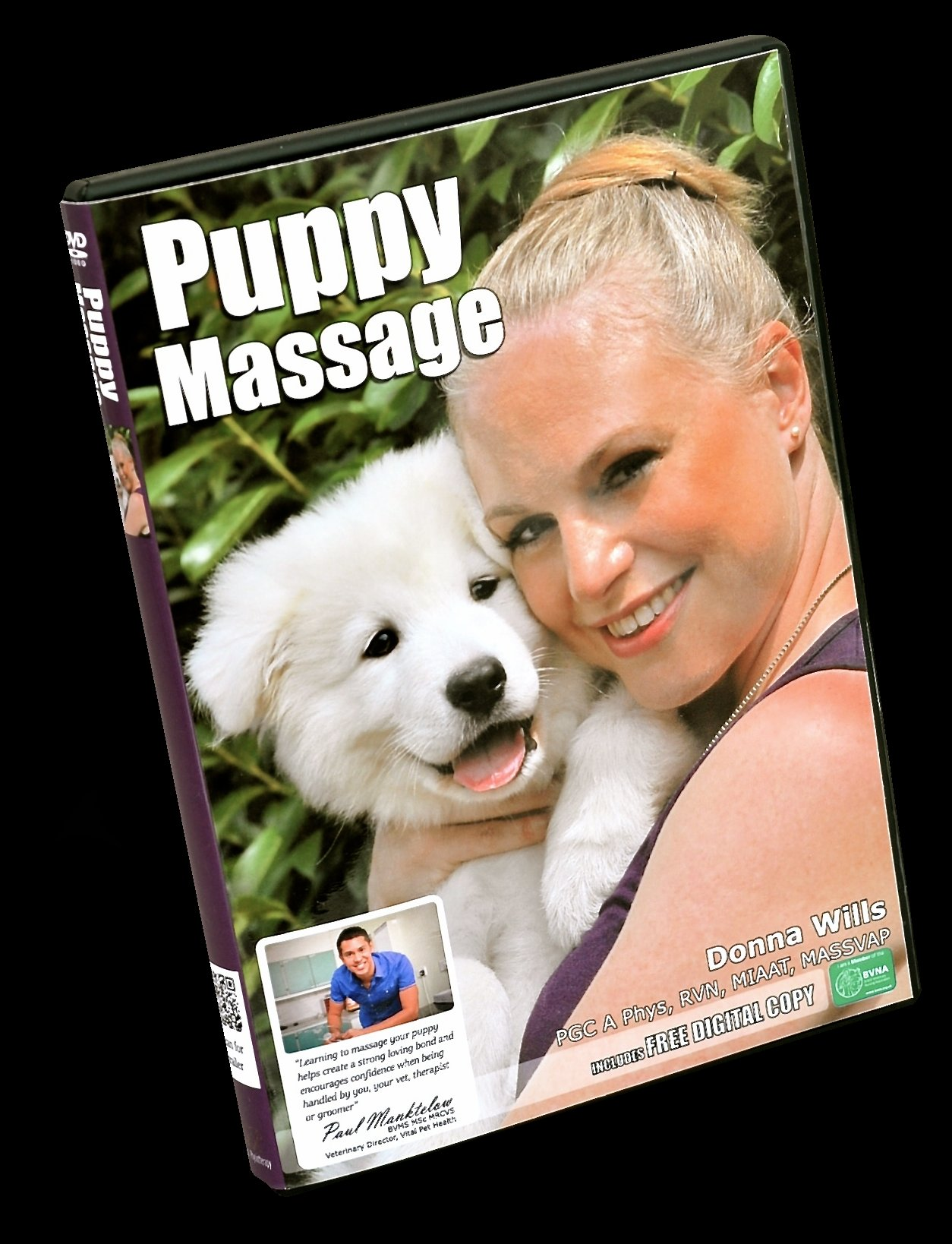 Puppy massage DVD